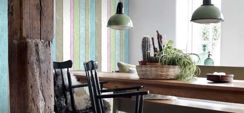 distressed wood wallpaper