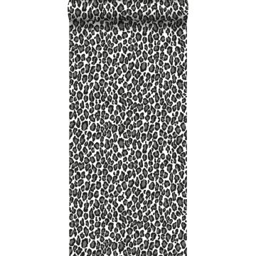 wallpaper panters black and white from ESTA home
