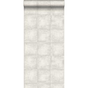 wallpaper concrete look light gray from ESTA home