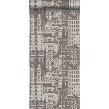 wallpaper buildings brown from ESTA home