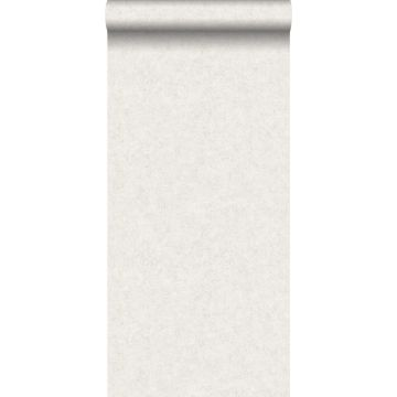 wallpaper plain concrete look off-white from ESTA home