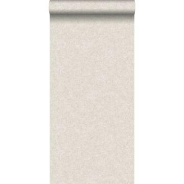 wallpaper plain concrete look light beige from ESTA home