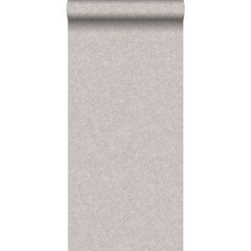 wallpaper plain concrete look warm gray from ESTA home
