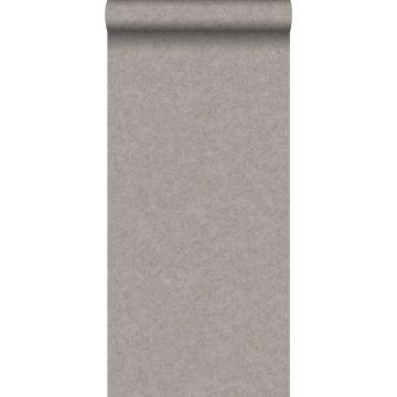 wallpaper plain concrete look brown from ESTA home