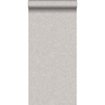 wallpaper plain concrete look taupe from ESTA home