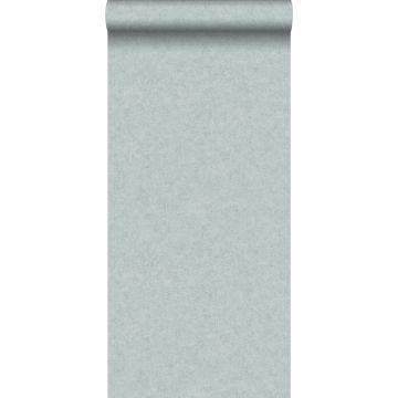 wallpaper plain concrete look teal from ESTA home