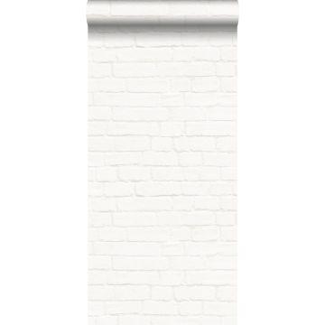 wallpaper brick wall off-white from ESTA home