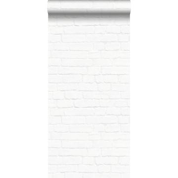 wallpaper brick wall white from ESTA home