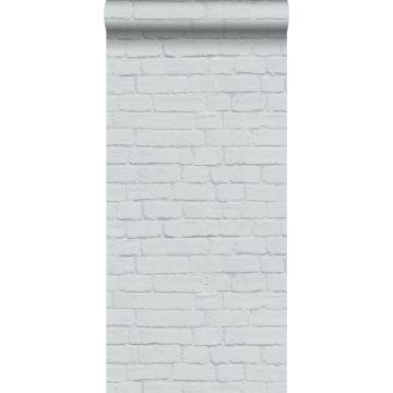 wallpaper brick wall light gray from ESTA home
