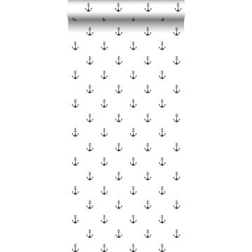 wallpaper anchors white and dark blue from ESTA home