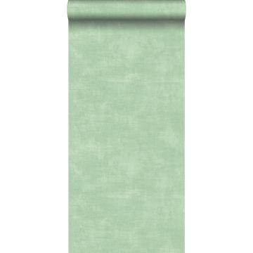 wallpaper concrete look mint green from ESTA home
