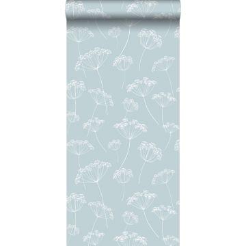wallpaper umbels light blue and white from ESTA home