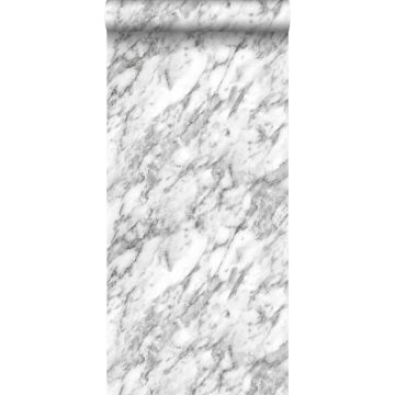 wallpaper marble black and white from ESTA home