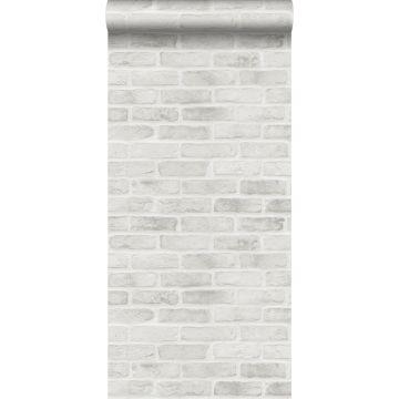 wallpaper brick wall gray from ESTA home
