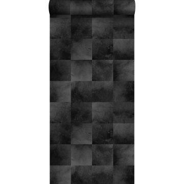 wallpaper animal skin black from ESTA home