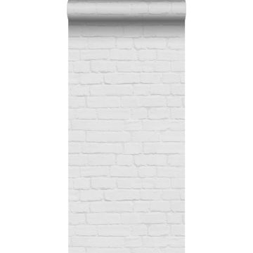 wallpaper bricks light gray from ESTA home