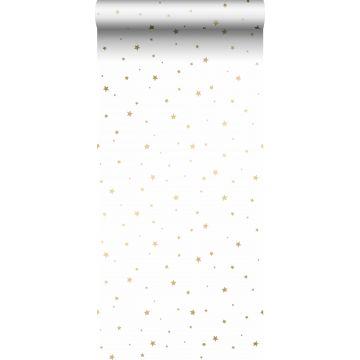 wallpaper little stars white and gold from ESTA home