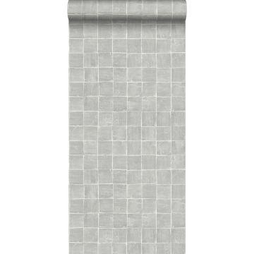 wallpaper tile motif gray from ESTA home