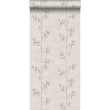 wallpaper bamboo cervine from ESTA home