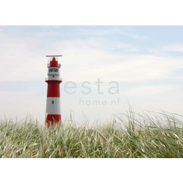 wall mural lighthouse red, white and green from ESTA home