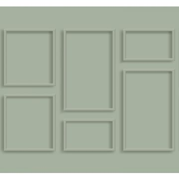 wall mural wall panelling grayish green from ESTA home