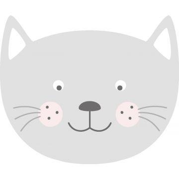 wall sticker animal heads light gray from ESTA home