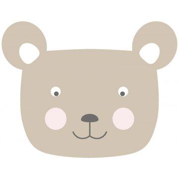 wall sticker animal heads beige from ESTA home
