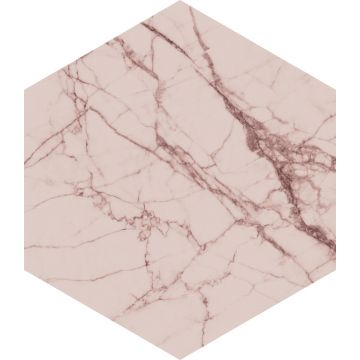 wall sticker marble gray pink from ESTA home