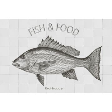 wall sticker Fish black from ESTA home