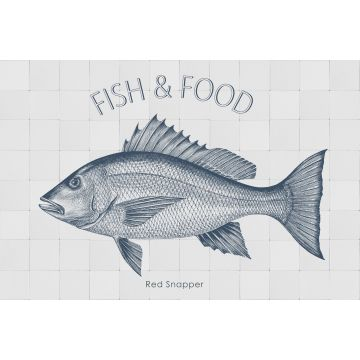wall sticker Fish blue from ESTA home