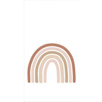 wall mural rainbow terracotta, soft pink and beige from ESTA home
