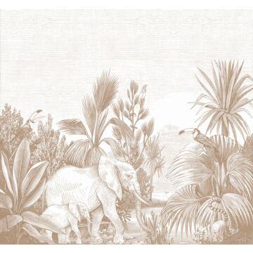 wall mural jungle terracotta from ESTA home