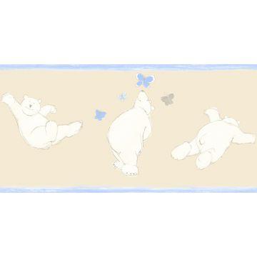 wallpaper border bears beige from ESTA home