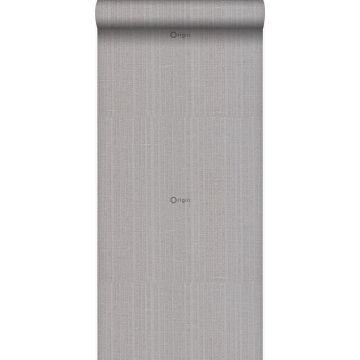 wallpaper fine stripes gray and silver from Origin