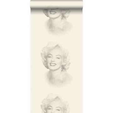 wallpaper Marilyn Monroe white and gray from Origin