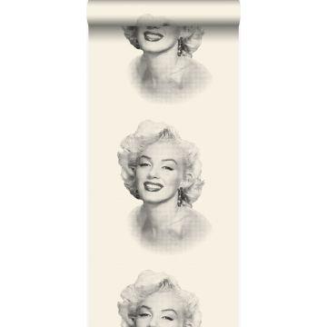 wallpaper Marilyn Monroe white and black from Origin