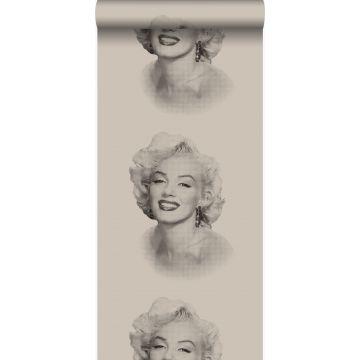 wallpaper Marilyn Monroe gray and black from Origin