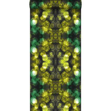 wallpaper kaleidoscope yellow and green from Origin