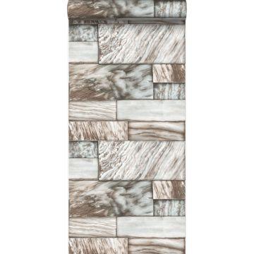 wallpaper marble stones light brown from Origin