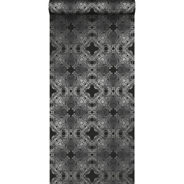 wallpaper graphic form black and silver from Origin