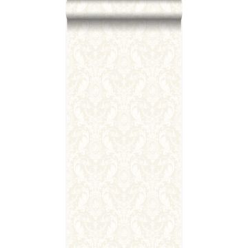 wallpaper ornament silver and white from Origin