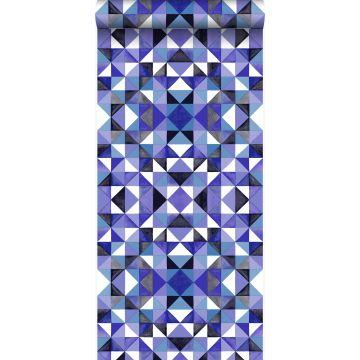 wallpaper cubism purple from Origin