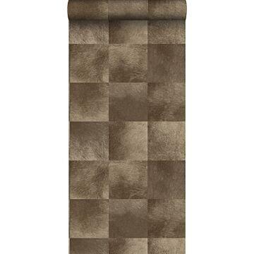 wallpaper animal skin texture dark brown from Origin