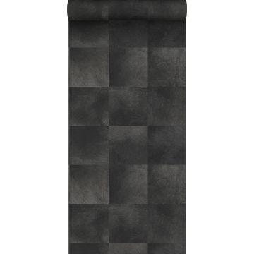 wallpaper animal skin texture anthracite gray from Origin