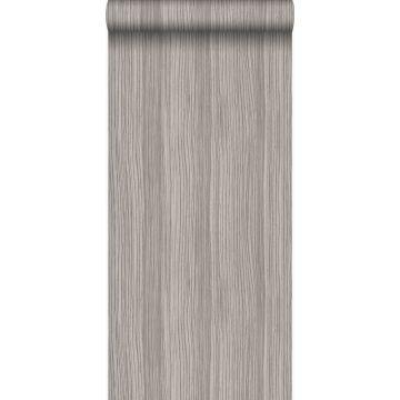 wallpaper stripes shiny light purple gray from Origin
