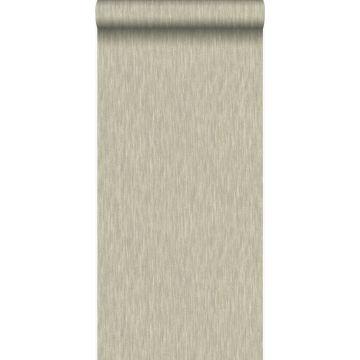 wallpaper linen shiny bronze from Origin