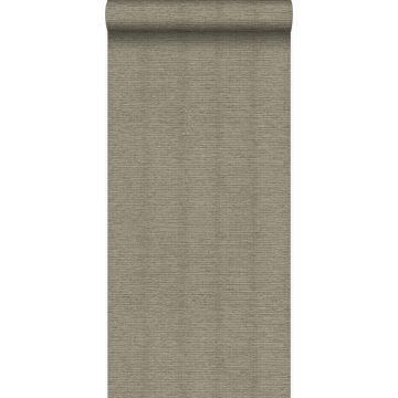 wallpaper linen texture light brown from Origin