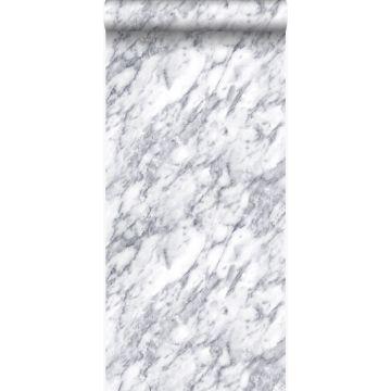 wallpaper marble dark ivory white from Origin
