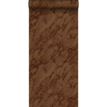 wallpaper marble rust brown from Origin