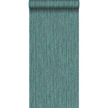 wallpaper bamboo teal from Origin